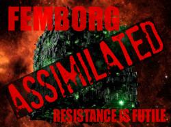 Femborg badge
